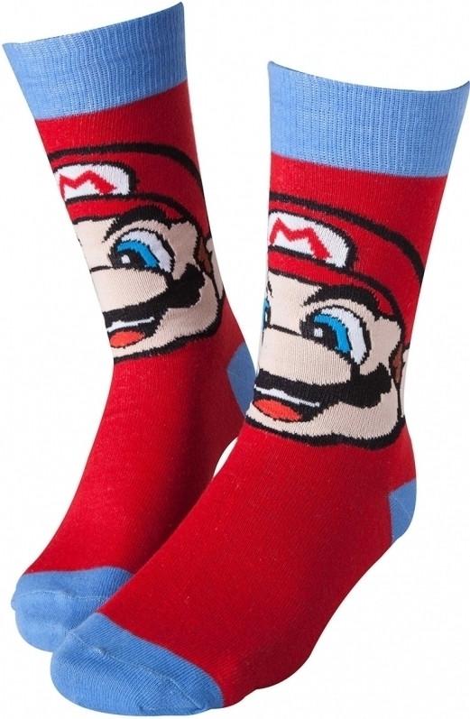 Nintendo - Mario Crew Socks