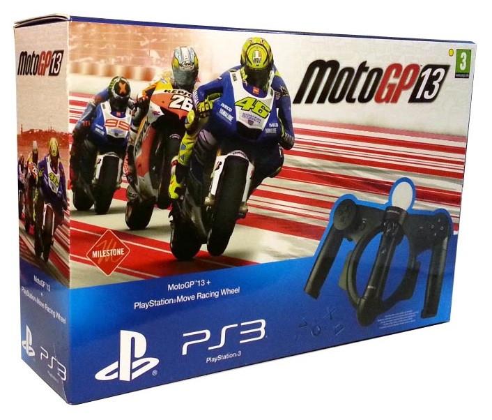 MotoGP 13 with Playstation Move Racing Wheel