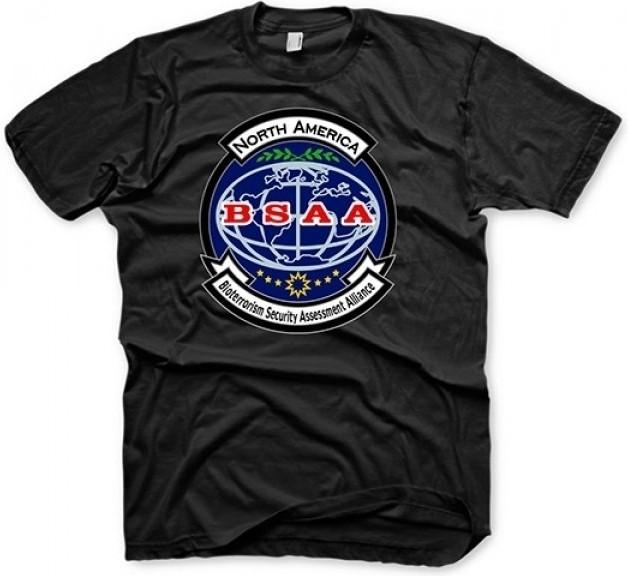 Resident Evil 6 T-Shirt - BSAA Black