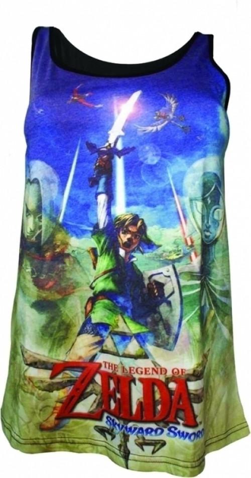 Zelda Female Sublimation Top