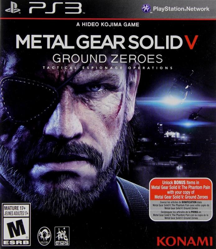 Goedkoopste Metal Gear Solid 5 Ground Zeroes