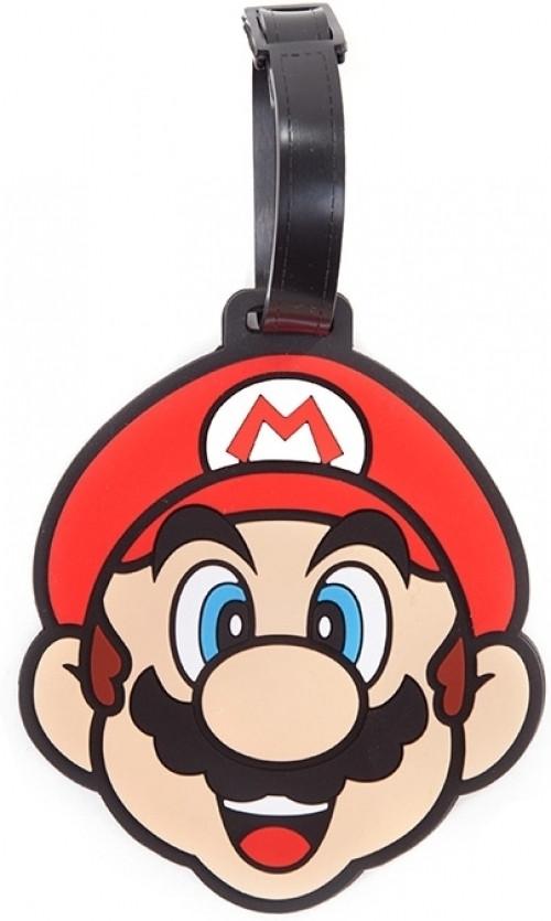 Nintendo - Super Mario Rubber Luggage Tag