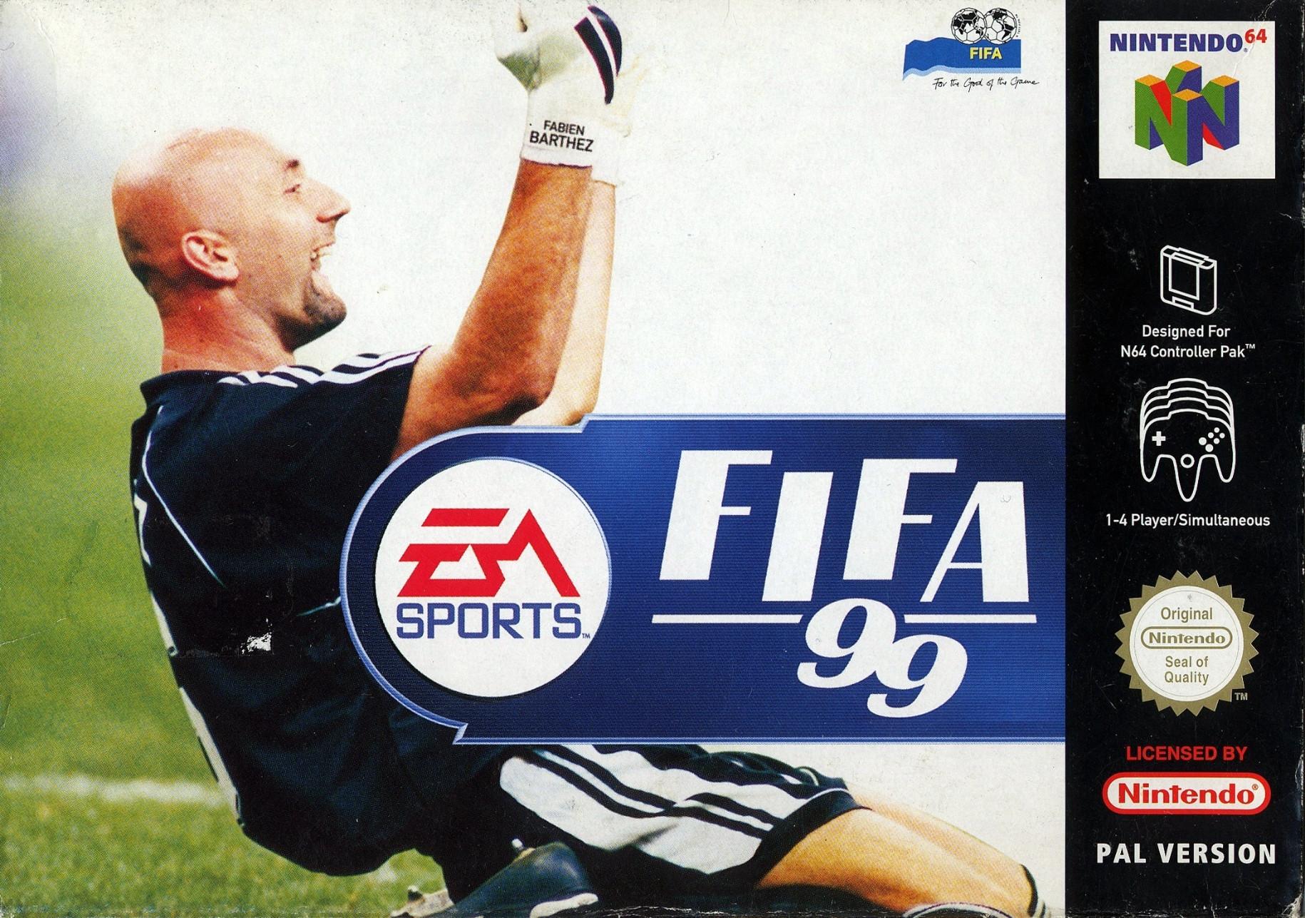 Goedkoopste Fifa '99