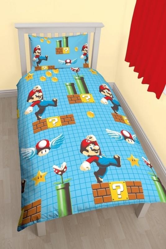 Image of Super Mario Maker Dekbedovertrek 135x200cm