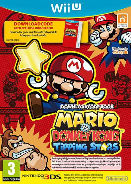 Goedkoopste Mario vs Donkey Kong Tipping Stars (Download Code)