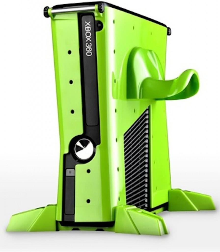 Xbox 360 Vault Green