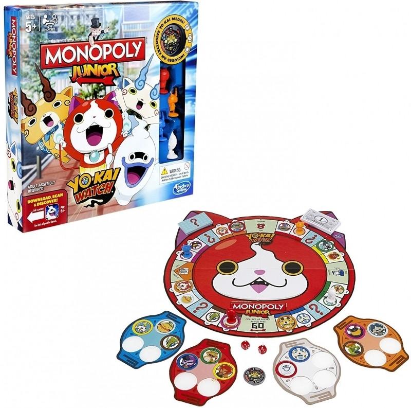 Yo-Kai Watch Monopoly Junior Edition