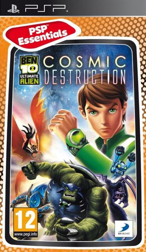 Image of Ben 10 Ultimate Alien Cosmic Destruction (essentials)