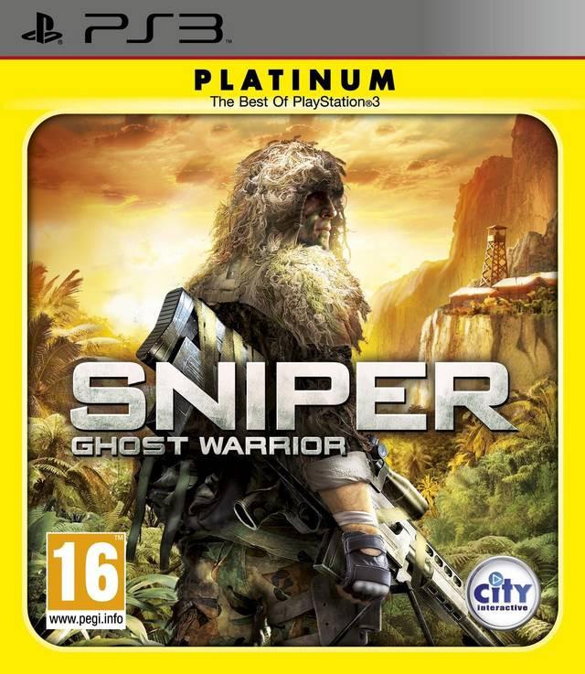 Goedkoopste Sniper Ghost Warrior (platinum)