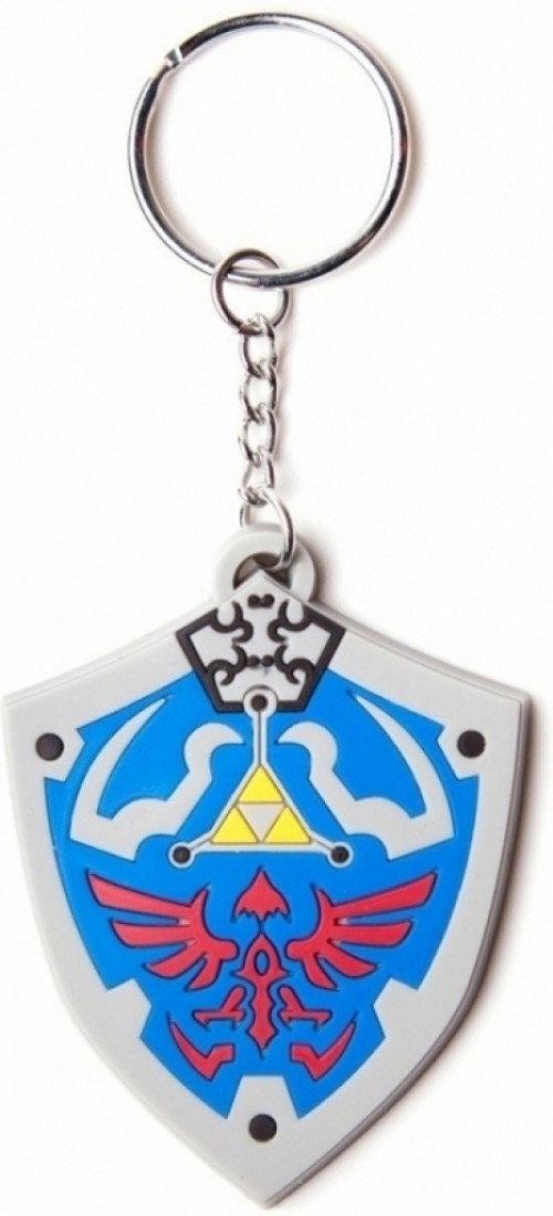 Nintendo Hyrulian Crest Rubber Key Chain