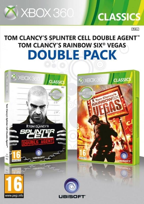 Splinter Cell Double Agent + Rainbow Six Vegas (Classics)