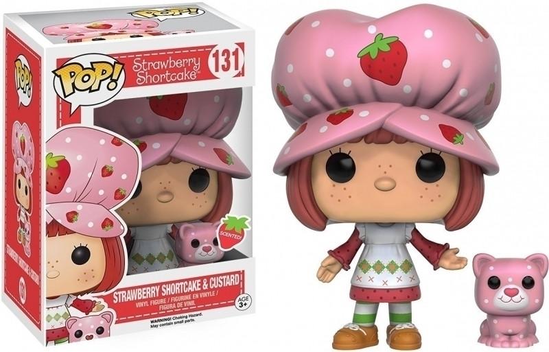 Strawberry Shortcake Pop Vinyl: Strawberry Shortcake & Custard