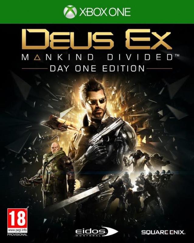 Deus Ex Mankind Divided (Day 1 Edition)