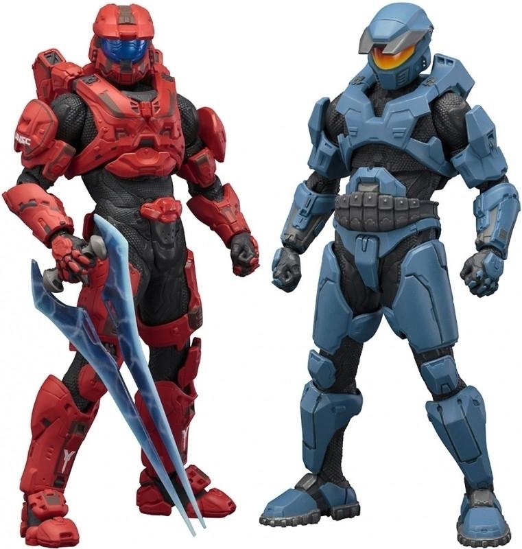 Image of Halo: Mjolnir Mark V And Mark VI DX Two Pack Artfx+ Statue