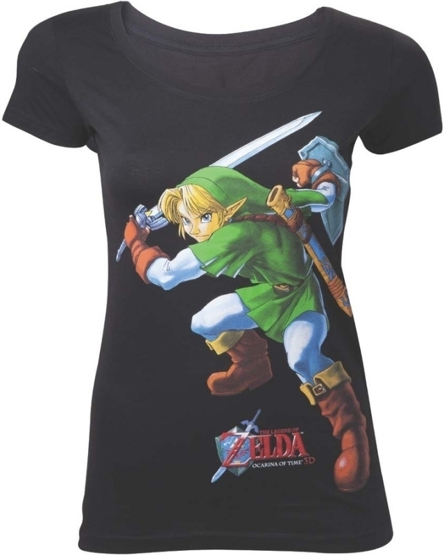 Nintendo - Zelda Ocarina of Time Female T-Shirt