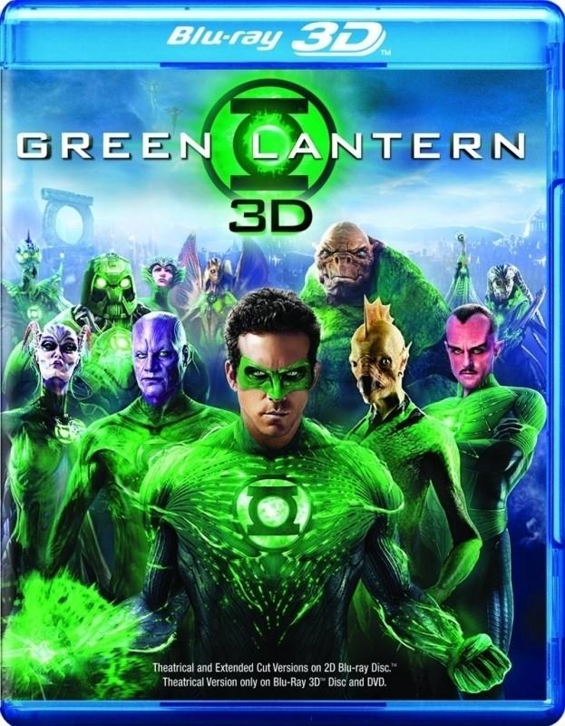 Green Lantern (3D) (3D & 2D Blu-ray)