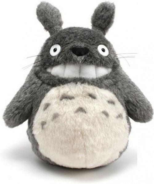 Ghibli - Totoro Smiling Pluche Grey 25cm