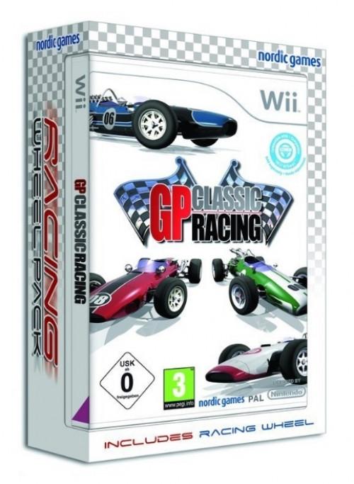 GP Classic Racing + Steering Wheel