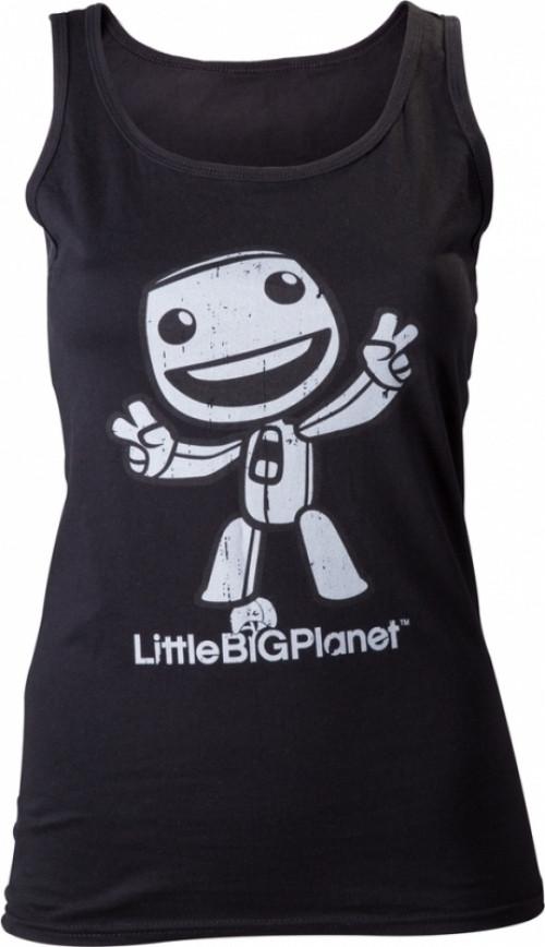 Little Big Planet Black Girls Tanktop