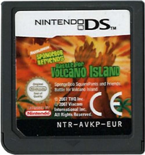 Nicktoons Battle Volcano Island Losse Cassette Thq kopen