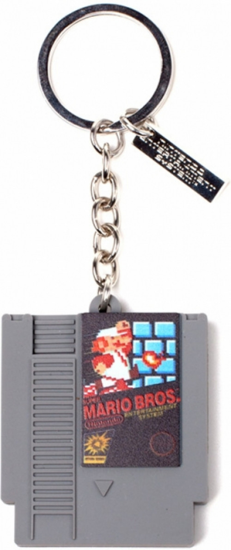Nintendo - Cartridge 3D Rubber Keychain
