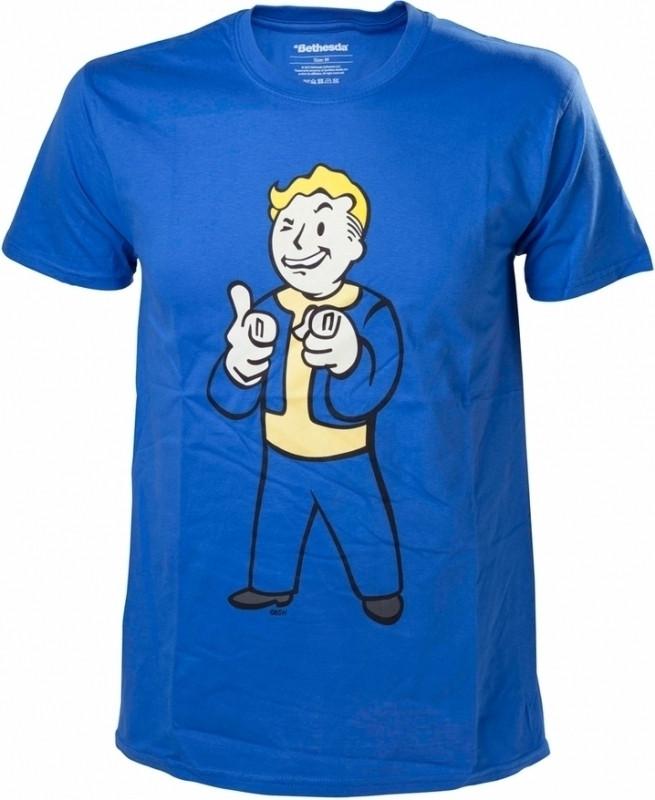 Fallout 4 Vault Boy Shooting Fingers T-Shirt