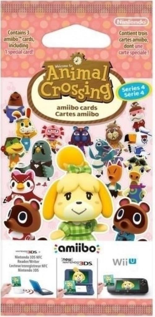 NINTENDO Animal Crossing amiibo-kaarten serie 4