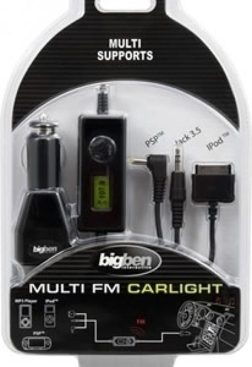 Big Ben Multi FM Car Adaptor (PSP / Ipod / MP3 Player)