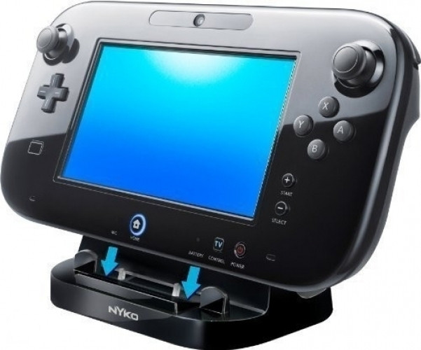 Nyko Power Stand for WiiU GamePad (Black)