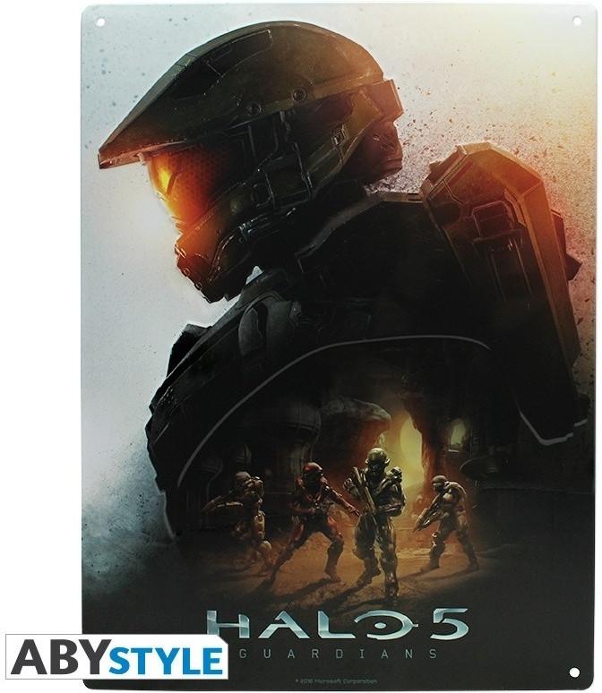 Image of Halo Metal Plate - Halo 5 Keyart