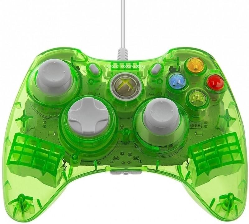 PDP Rock Candy Wired Controller (Groen) Xbox 360 (037-010EU-GR)
