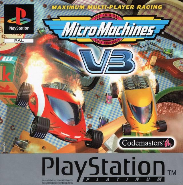 Micro Machines V3 (platinum) kopen