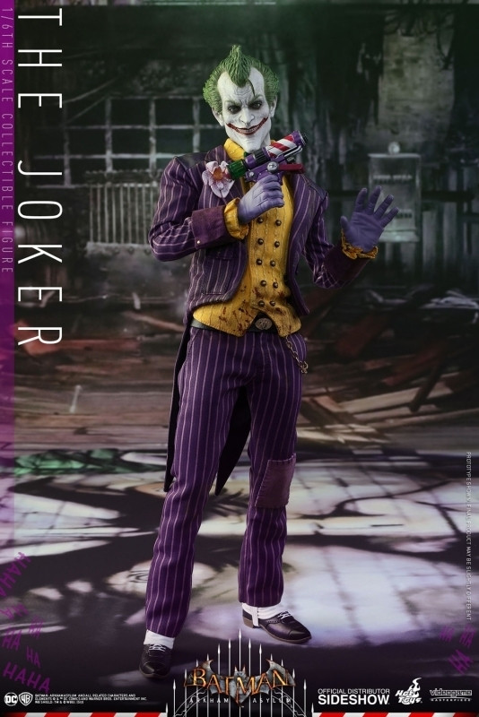 DC Comics: Video Game Masterpiece Series - The Joker 1:6 scale Figure