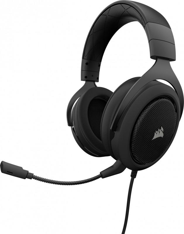 Corsair Gaming - HS50 Stereo Gaming Headset (Carbon)