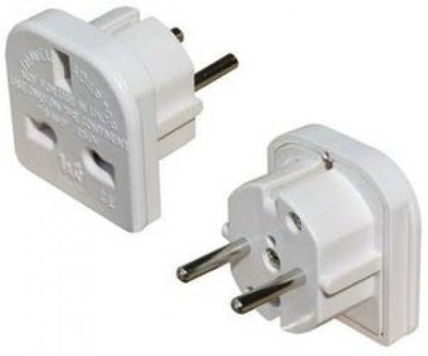 UK to Euro Plug Adaptor