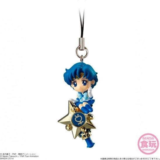 Sailor Moon Twinkle Dolly Hanger - Sailor Mercury on Wand