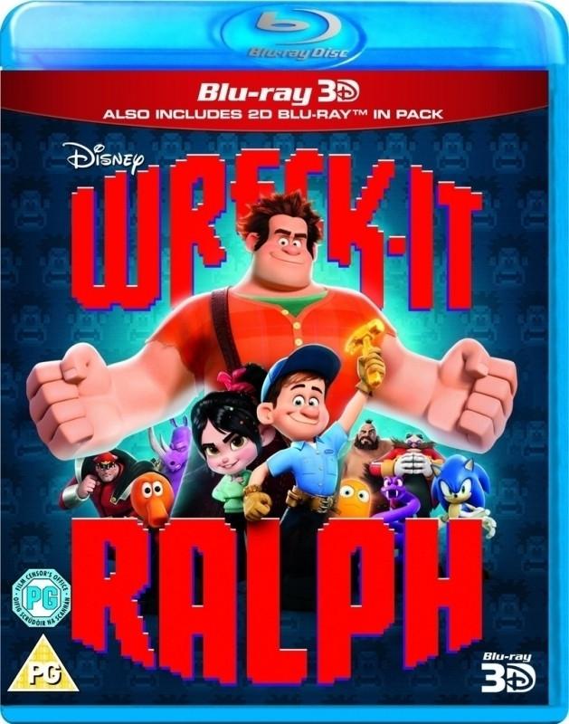 Wreck It Ralph 3D (3D & 2D Blu-ray)