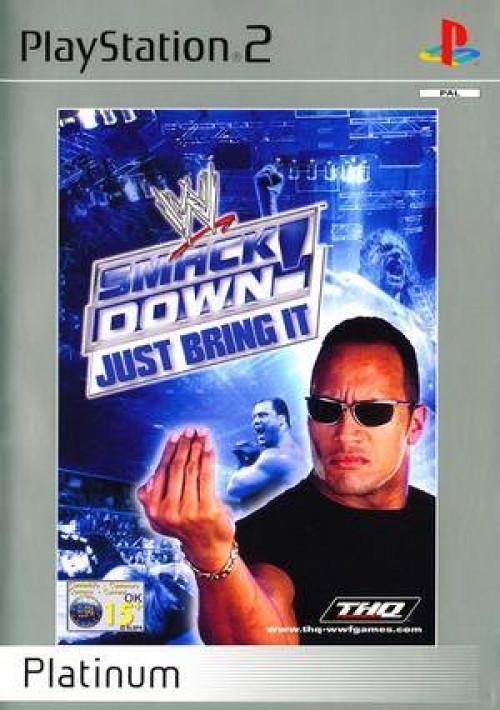 WWF Smackdown Just Bring It (platinum)
