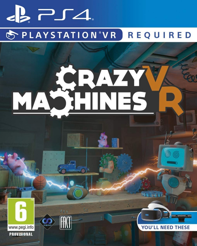 Crazy Machines VR (PSVR Required)