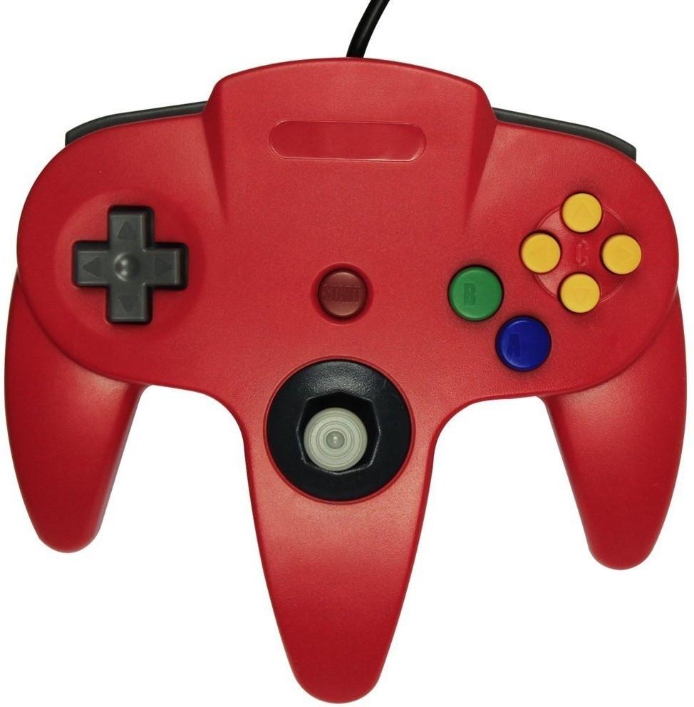 Nintendo 64 Controller Rood (TTX Tech)