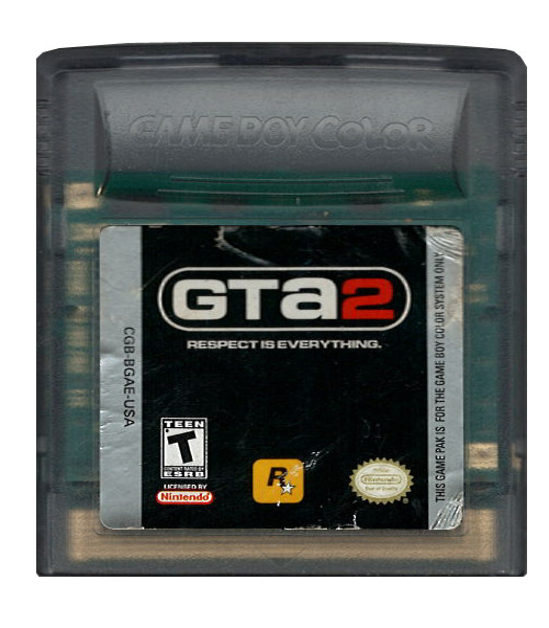 Grand Theft Auto 2 (losse cassette)