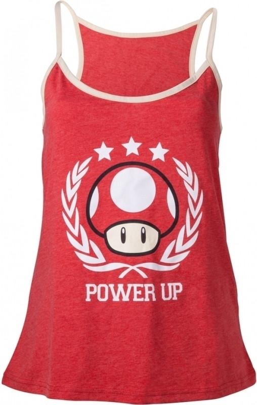 Nintendo - Girl's Top Power Up Women