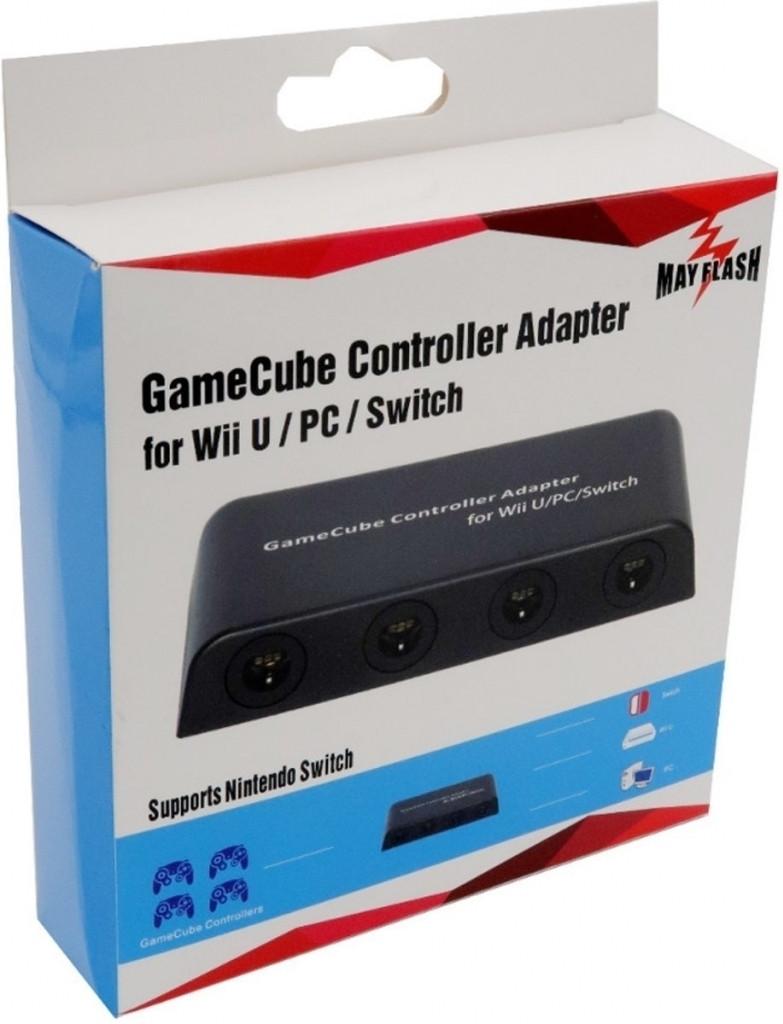 Gamecube Controller Adapter for WiiU & PC (MayFlash)