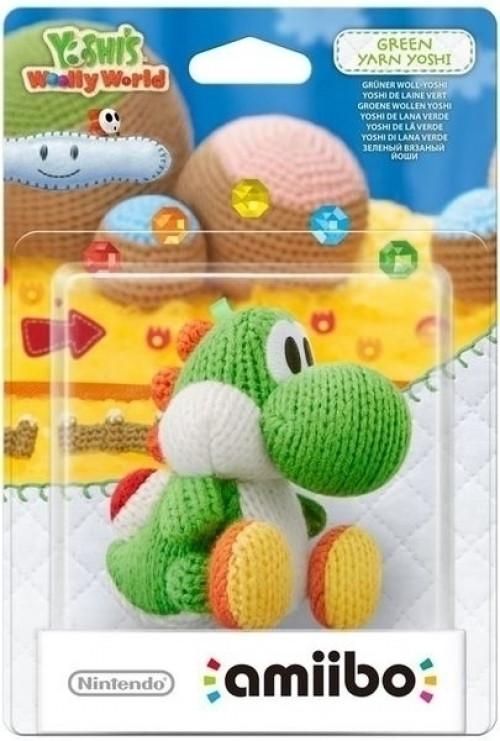 Amiibo - Green Yarn Yoshi (Yoshi's Woolly World Collection)
