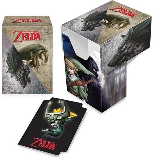 The Legend of Zelda Trading Card Deck Box - Twilight Princess