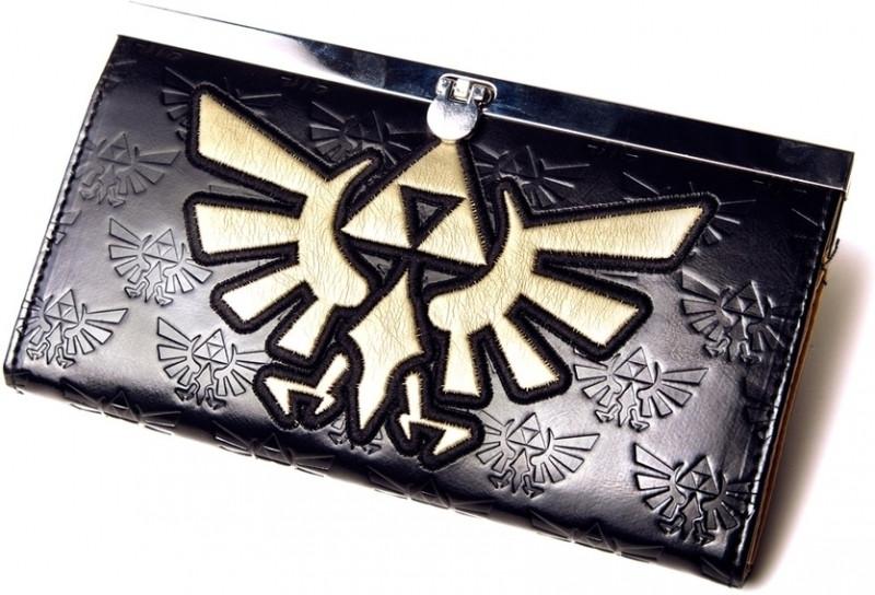 Nintendo Zelda Golden Logo Girl Wallet (black)