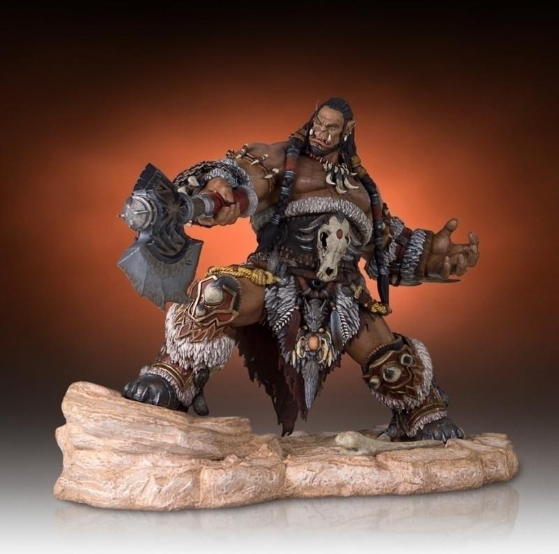 Warcraft: Durotan Statue