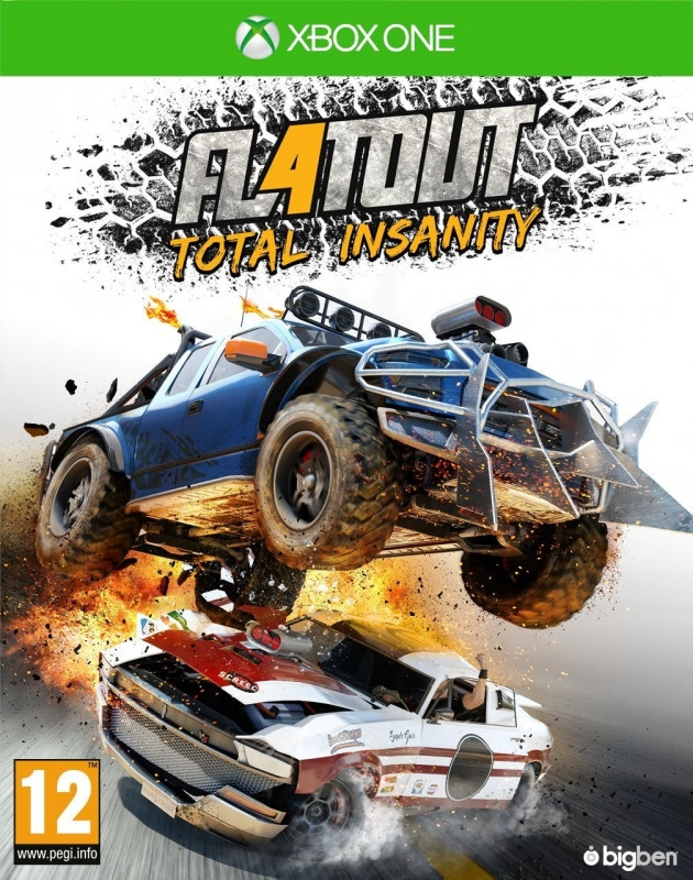 Bigben Interactive FlatOut 4, Total Insanity Xbox One (XB1FLATOUT4FRNL)