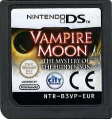 Vampire Moon the Mystery of the Hidden Sun (losse cassette) voor de Nintendo DS