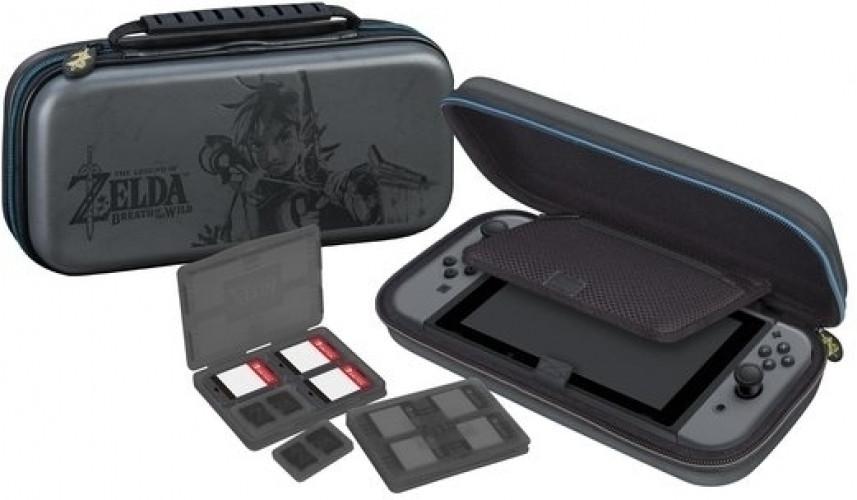Goedkoopste Big Ben Deluxe Travel Case Black - The Legend of Zelda Breath of the Wild (NNS44)